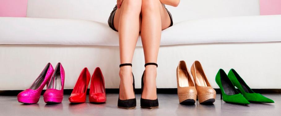 Uso adecuado de los zapatos de tacón