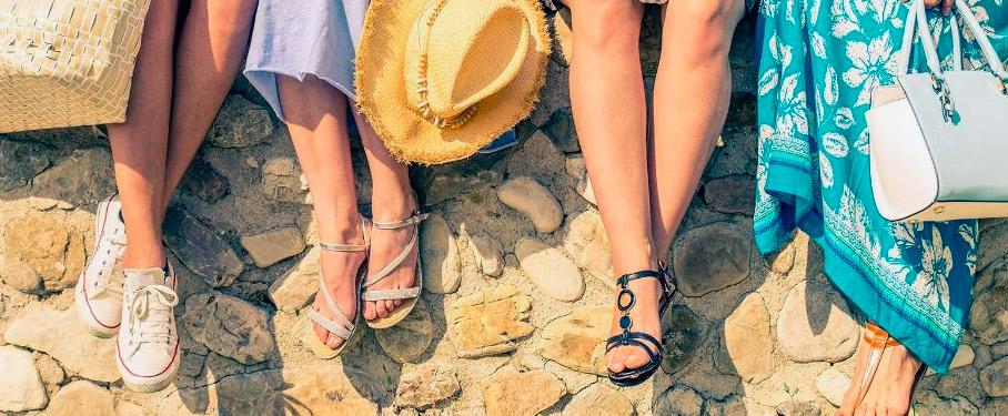Claves para elegir el calzado de verano y mantener tus pies sanos