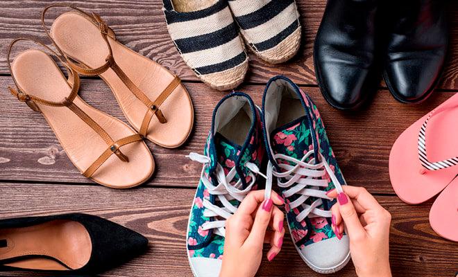 Cambiamos de estación, cambiamos de calzado. Consejos para cuidar tus pies en verano