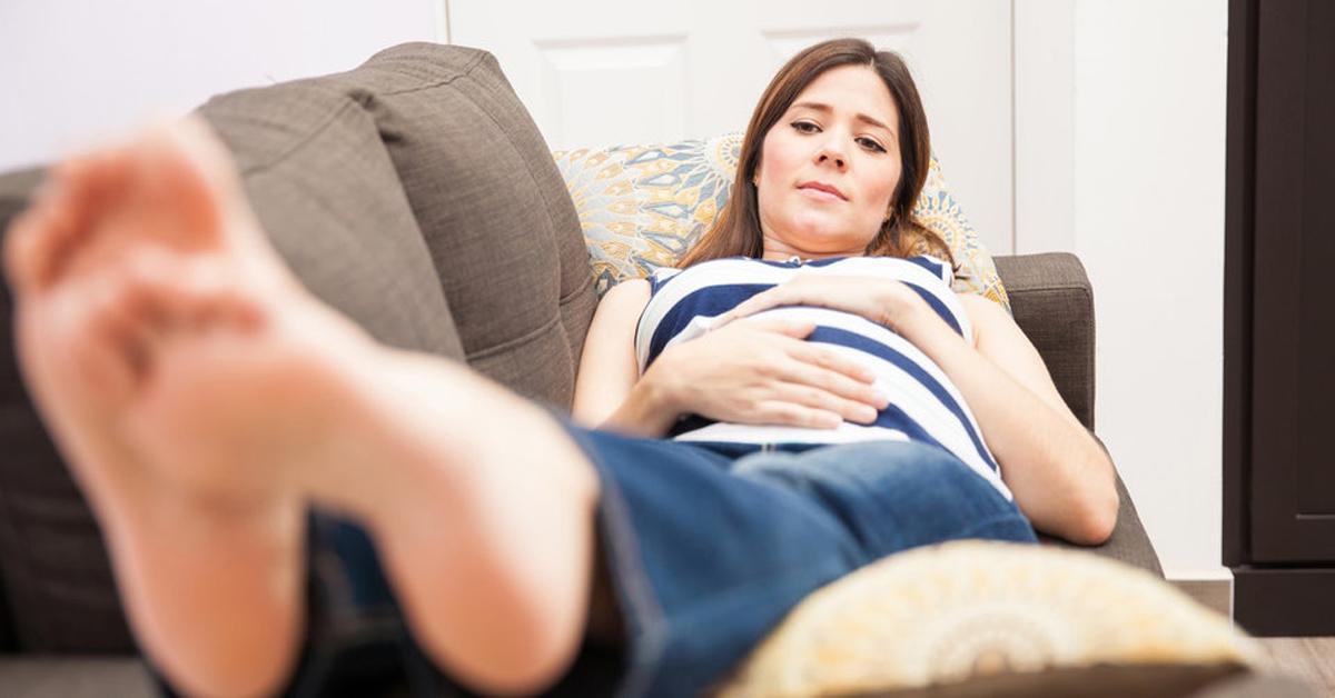 Los pies durante el embarazo