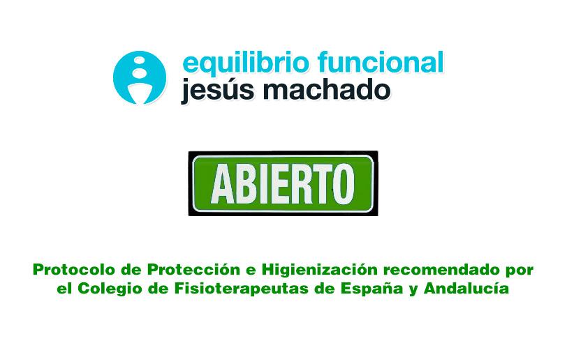 Abrimos siguiendo estrictamente el protocolo de protección e higienización