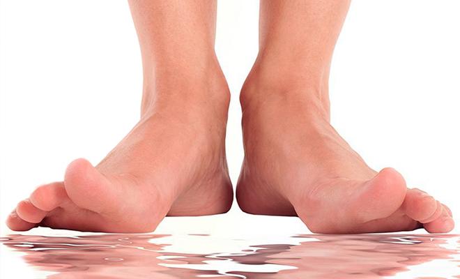 Sudor en los pies