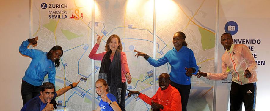 Todo listo en Sevilla para el Zurich Maratón 2015